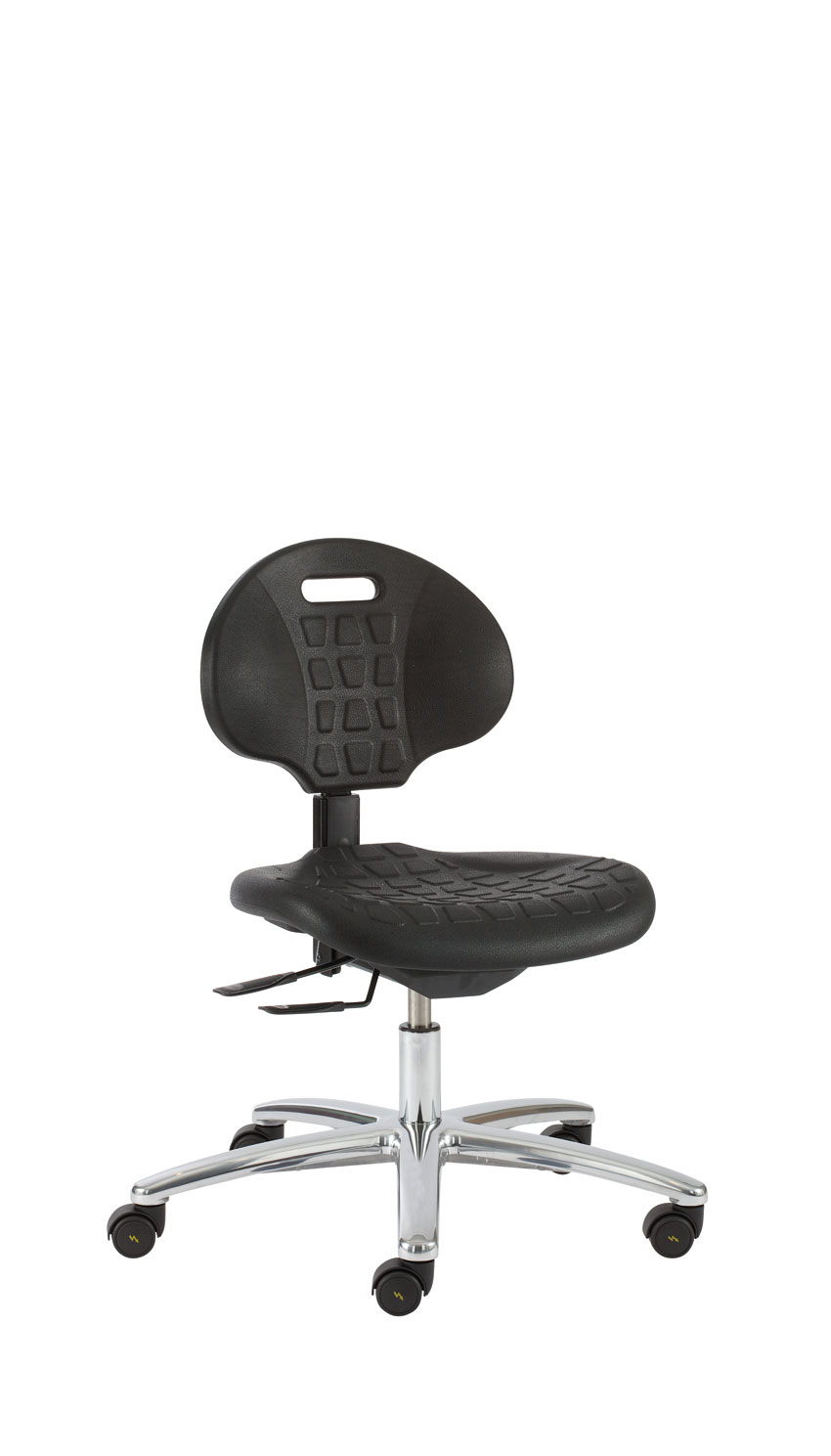 ESD CLEANROOM CHAIR ON ESD CASTORS