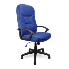 Coniston (Blue) High Back Fabric Executive Office Armchair