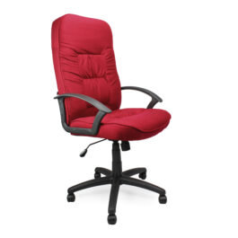 Coniston (Wine) High Back Fabric Executive Office Armchair