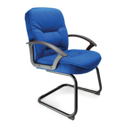 Coniston-C (Blue) Office Cantilever Framed Visitors Chair