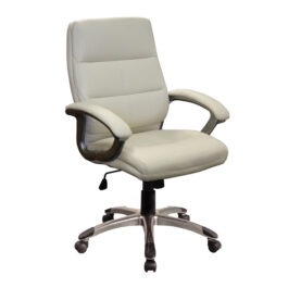Greenwich (Cream) Executive Medium Back Managers Armchair