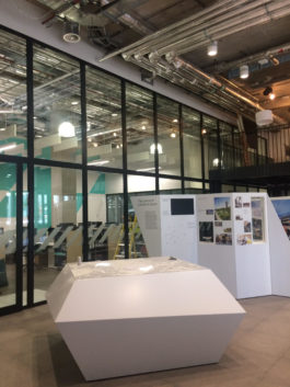 Double Glazed Glass Office Partition With Sliding Doors