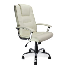 Westminster (Cream) Leather Executive Office Armchair