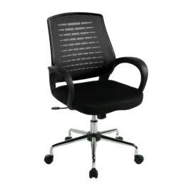 Carousel (Black) Mesh Back Operator's Chair