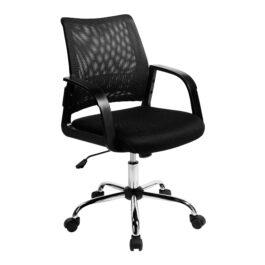 Calypso (Black) Mesh Task Operator Chair