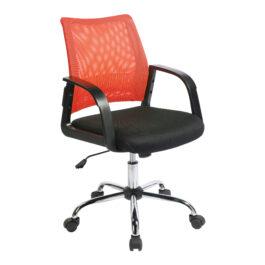 Calypso (Orange) Mesh Task Operator Chair