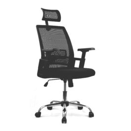 Alpha (Black) High Back Mesh Chair