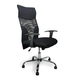 Aries (Black) Mesh Managers Armchair