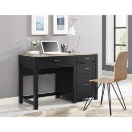 Carver computer desk with unique rising top